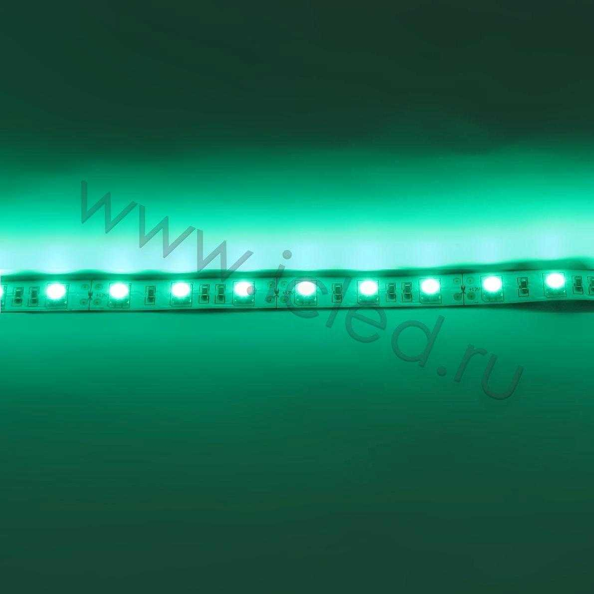 Светодиодная лента  Standart PRO class, 5050, 60led/m, Green, 12V, IP33