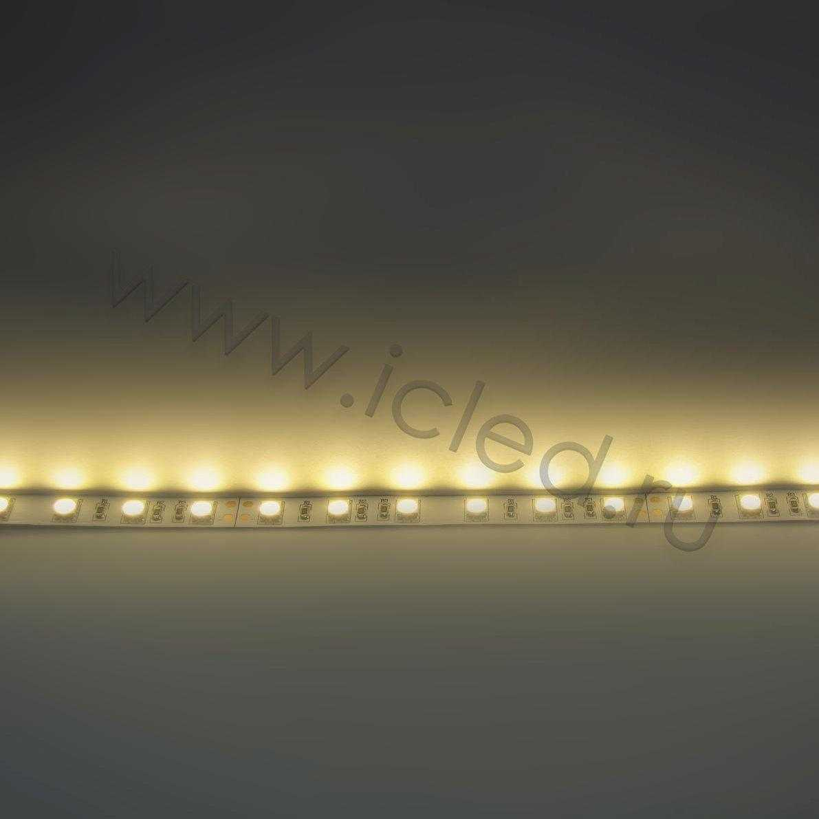 Светодиодная лента  Standart PRO class, 5050, 60led/m, Warm White, 24V, IP33