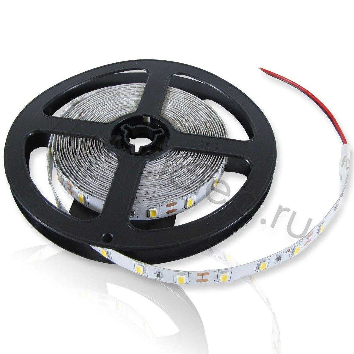 Светодиодная лента  Standart PRO class, 5630, 60led/m, day white, 12V, IP33, P306