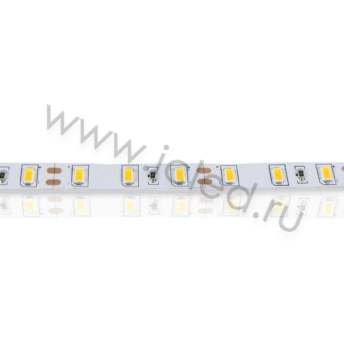 Светодиодная лента Standart PRO Class, 5630, 60led/m, warm white, 12V, IP33, P308