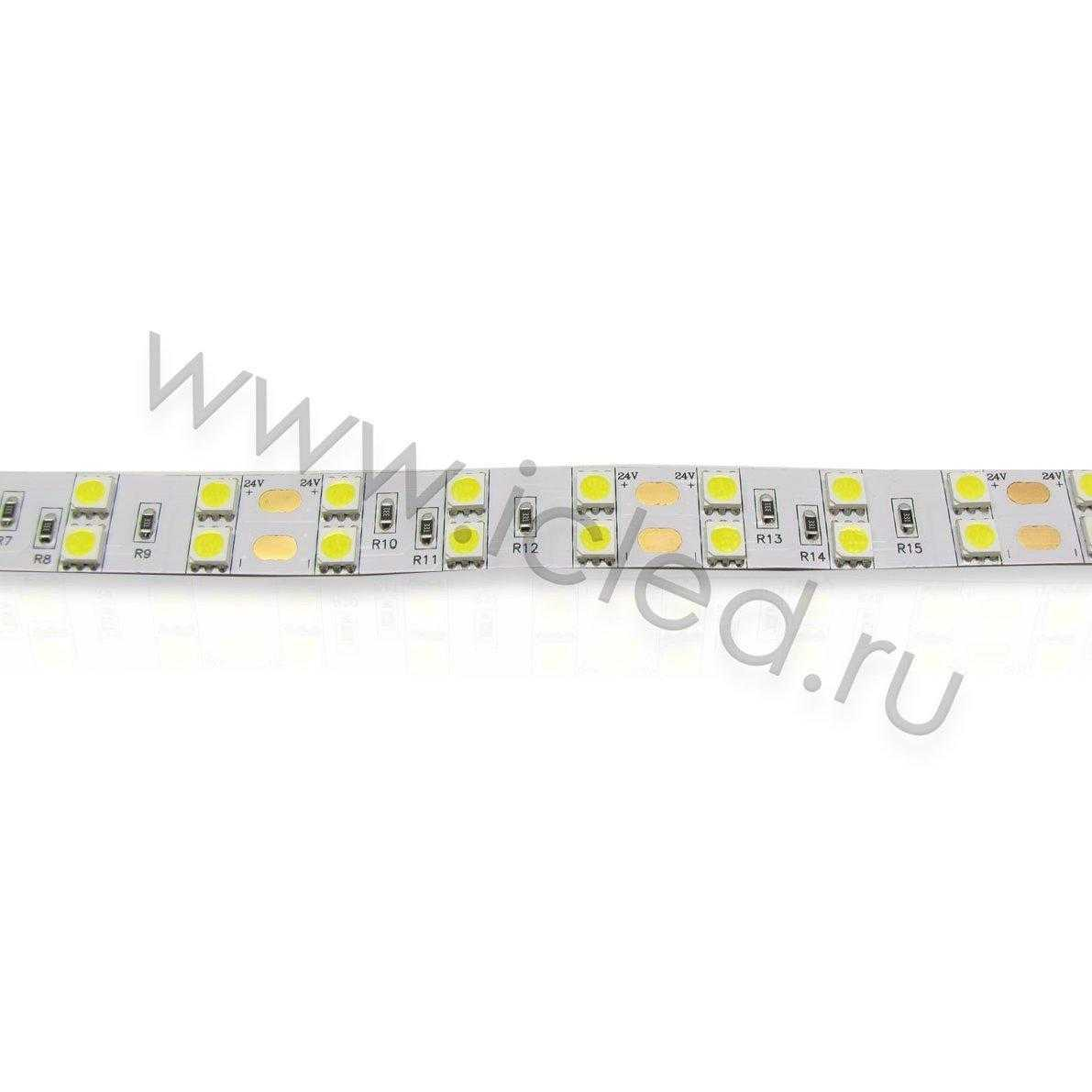 Светодиодная лента Standart PRO class, 5050, 120 led/m, Day White, 24V, IP33